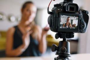 La vidéo d'interview